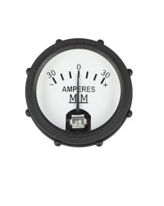 107694   Amp Meter Gauge - Black Bezel   Minneapolis Moline Big Mo Big Mo 500 G G705 G706 G707 G708 GVI Jet Star M5 M602 M604 M670 M670 Super R U Z 335 445      BE455A   10A8171   30-3485560
