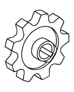 163640 | Auger Sprocket - Clean/Tailing | New Holland TR75 TR85 TR86 TR87 TR95 TR96 TR97 TR98 |  | 773824 | 620469 | 80578858 | 80620469