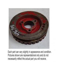 496708 | Auxiliary Pump Drive Pulley | Case IH 1620 1640 1660 1670 1680 | International | Farmall | IH 1420 1440 1460 1470 1480 |  | 196481C1 | 196481C1