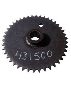 431500 | Axle Drive Sprocket | John Deere 570 575 | New Holland L451 L452 L454 L455 |  | MG631017 | 631017 | 80631017 | 157096108