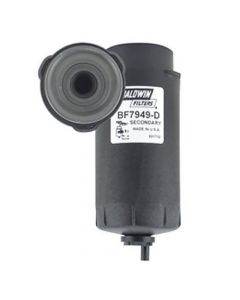125896 | Baldwin® Filter - Fuel | Secondary | Water Separator with Removable Drain | BF7949-D | John Deere A400 D450 R450 S550 T550 W540 W550 130G 160 200 210 210G 210K 240 |  | RE522878 | DONALDSON P551422 | FLEETGUARD FS19976 | FRAM PS10884 | WIX 33978