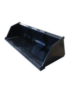 159110 | Blue Diamond - Skid Steer | Snow & Mulch Bucket | 72