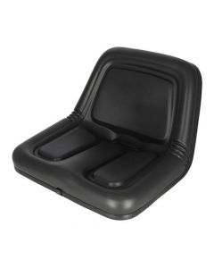 101378 | Bucket Seat | Deluxe High Back | Vinyl | Black | Allis Chalmers 6060 6070 6080 | John Deere 3375 4475 | Gehl 3310 3510 3825 | Kubota B7300 | Long 350 360 445 460 510 610 | New Holland L35 L120 L125 L250 L325 L425 L445 |  | 70272369 | MG861683