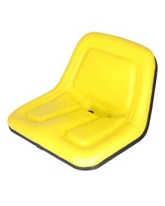 101380 | Bucket Seat | Deluxe High Back | Vinyl | Yellow | Case | Gehl | John Deere | Kubota | New Holland | John Deere 375 570 3375 4475 | Gehl 3310 3510 3825 | Kubota B7300 | New Holland L35 L120 L125 L250 L325 L425 L445 L454 |  | MG861683 | TY15863