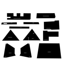 112807 | Cab Foam Kit with Headliner | Allis Chalmers 7000 7010 7020 7030 7040 7050 7060 7080 |
