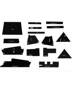 112808 | Cab Foam Kit with Headliner & Post Kit | Allis Chalmers 7000 7010 7020 7030 7040 7045 7050 7060 7080 |