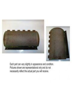 429955 | Clean Grain Lower Auger Perforated Door | John Deere 6620 6620 SH 6622 | H98489