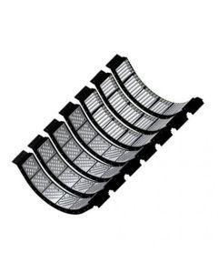 160459   Concave KX7 Set - Small Wire Tough-Thresh - Kondex   Challenger 660B 670B   Gleaner A65 A66 A75 A76   Massey Ferguson 8560 8570 8780 9520 9690 9695 9790 9795  