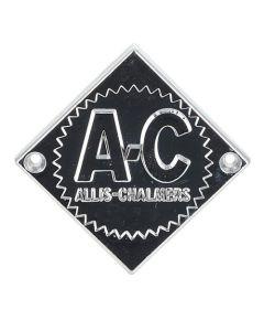 Emblem Chrome with Chrome Background And Starburst fits Allis Chalmers D21 D21 D15 D15 D12 D12 D14 D14 D17 D17 D10 D10 D19 D19 fits Gleaner F E3 E C
