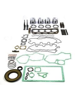 130770 | Engine Rebuild Kit - Less Bearings | engine rebuild kit | overhaul | inframe | repair | rebuild kit | overbore | engine parts | Case SR160 SR175 SV185 420 420CT | Case IH DX55 | New Holland C175 L175 L215 L218 L220 LS175 TC55DA | Perkins |