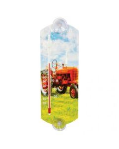"161369   EZ Read - Thermometer    Red Tractor   Indoor/ Outdoor   10""  "