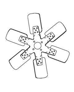 163840   Fan Blade - 6   Minneapolis Moline A4T 1400 A4T 1600 G900 G950 G955 G1000 G1000 Vista G1050 G1350 G1355   Oliver 1870 2155 2270 2655      10A21815