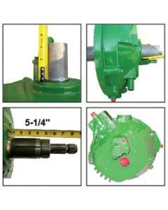 205572 | Feeder House Reverser Gear Box Assembly | John Deere 9660 9670 9760 9770 9860 |