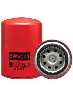 125987 | Filter - Coolant | Spin On | BW5074 | AGCO | 72509505 | Allis Chalmers | Cummins | 3315114 | Ford | 861361 | AGCO DT160 DT180 DT200 DT225 | Ford |  | 72509505 | 3315114 | 861361 | DONALDSON P552074 | FLEETGUARD WF2074 | FRAM PR3911 | WIX 24074