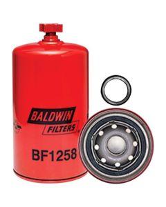 126281 | Filter - Fuel / Water Separator with Drain | Spin On | BF1258 | Case IH | Case | Steiger | Case 921 | Case IH 2144 2166 2188 2344 2366 2377 2388 9150 9170 9180 |  | FRAM-PS8047 | DONALDSON P551001 | FLEETGUARD FS1001 | FRAM PS8047 | WIX 33407