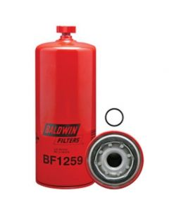 125836 | Filter - Fuel / Water Seperator | Spin On With Drain | BF1259 | AGCO | Case | Case IH | Cummins | 3329289 | AGCO 8360 8425 | Case IH MX240 MX255 MX270 MX285 STX275 STX375 9350 | Gleaner R72 R75 | New Holland TG255 TG285 TG305 9282 |  | 3329289