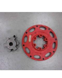 431914 | Flex Plate and Drive Hub Assembly | Case SR130 SR150 | New Holland L150 L160 L170 L213 L215 L565 LS150 LS160 LS170 LX565 LX665 |  | 87670983