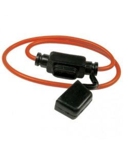 155058 | Fuse Holder Mini ATM with Dust Cap 12 AWG 30 AMP |