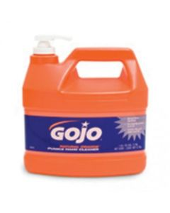 156958   GOJO Natural Orange Hand Cleaner with Pumice   Gallon  