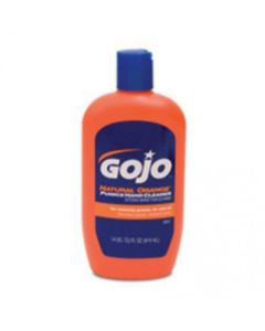 156959   GOJO Natural Orange Hand Cleaner with Pumice   14 oz Squeeze Bottle  