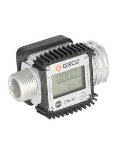 155683 | GROZ Digital Fuel Meter | Low Viscosity Fluids |