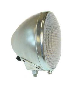 105351 | Headlight Assembly - 6V | Round | Case | Minneapolis Moline | White | 9668AB | Case D LA SC 400 500 600 | Minneapolis Moline R RT RTI RTU U UB UDLX UNI UT UTS Z | Oliver Super 55 Super |  | 9668AB | KT1360 | 1H-7379 | O6330AB | 1K7379 | KT1360