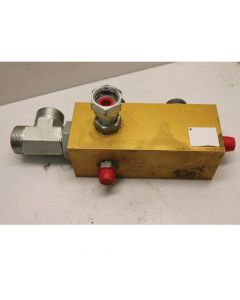 433584   Hydraulic Drain Manifold Block   Case IH 7010 7120 8010      87611498