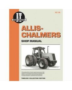 I&T Shop Manual Collection, New, Allis Chalmers