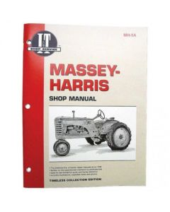 102285 | I&T Shop Manual Collection | Massey Harris 21 23 33 44 55 555 |