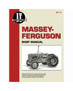 102283 | I&T Shop Manual | Massey Ferguson F40 TO35 35 50 202 202 204 204 | Massey Harris 50 202 |