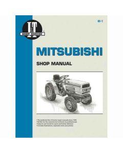 102966 | I&T Shop Manual | Mitsubishi MT160 MT160D MT180 MT180D MT180H MT210 MT210D MT250 MT250D MT300 MT300D |