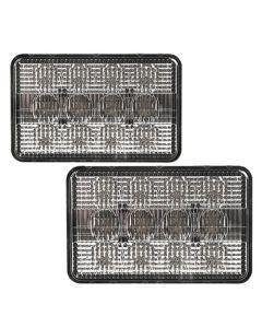 163773   LED Headlamp Kit   8400 Lumens   John Deere 4700 4710 7200 7210 7400 7410 7510 7600 7610 7700 7710 7800 7810      RE56964
