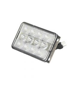 160856 | LED Headlight - 60W | Rectangular | Flood / Spot Combo | John Deere 4700 4710 4720 5105 6110 6110L 6200 6200L 6210 6210L 6300 6310 6310L 6310S 6400 6400L 6405 6410 6410L 6410S 6500 6500 6500L 6510L 6510S 6600 6605 6610 6650 6700 |  | AL75338