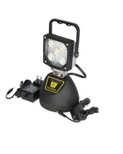 161042 | LED Work Light - 15W Flood | Portable & Rechargeable with Magnetic Base |