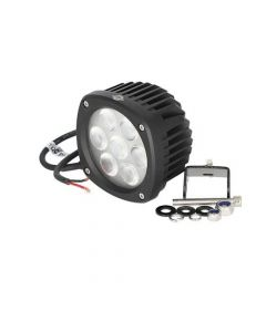 160757 | LED Work Light - 35W | Compact | Square | Flood Beam | Case 580 Super N 590 Super N 650K 750K 850K | Caterpillar |  | 87555142 | 383-8634 | 241117 | AT305931 | 37A-06-12430 | 84236850 | 87584890 | 47682620 | 47682629 | 386-1717 | AT443224