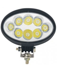 160650 | LED Work Light - 40W | Oval | Spot Beam |