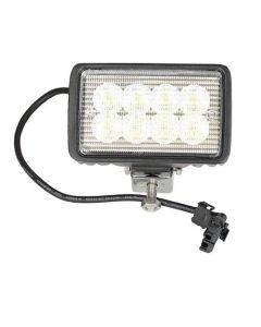 163423   LED Work Light   Bottom Post   Flood Beam   Case 470   Case IH CX50 CX60 FLX3010 FLX3510 FLX4010 FLX4510 MX80C MX90C MX100 MX100C MX110 MX120 MX135 MX150 MX170 Patriot 4420 SPX4410 STX275 STX280 STX325 STX330 STX375 STX380 STX425 STX430  