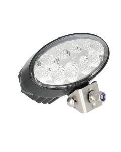 154513 | LED Work Light - Hella | 28W | Oval 90 |  Pedestal Mount | Long Range | Spot |