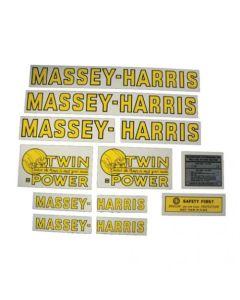 102656 | Massey Harris Decal Set | Challener | Colt | Mustang | Pacemaker & Pony 4 Wheel Drive | Mylar | Massey Harris Challenger Colt Mustang Pacemaker Pony 20 22 30 33 44 50 55 81 82 101 102 201 202 203 333 444 555 744 745 |