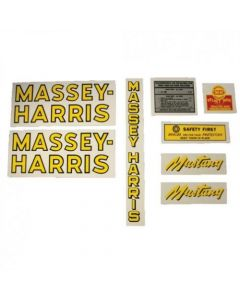 102654 | Massey Harris Decal Set | Pacemaker | Mylar | Massey Harris Pacemaker |