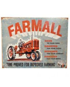 161215 | Metal Tractor Sign - Farmall Model A | 16.5