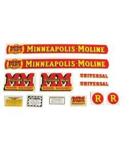102774 | Minneapolis Moline Decal Set | R | Mylar | Minneapolis Moline R |