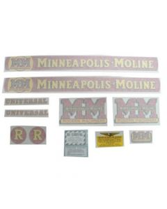 102721 | Minneapolis Moline Decal Set R | Vinyl | Minneapolis Moline R |