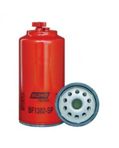 158931 | Baldwin® Filter Fuel/Water Separator Spin-on with Drain and Sensor Port BF1382-SP | Challenger MT835 MT835B MT845 MT845B MT855 MT855B MT865 MT865B MT955B MT965B |  | 1R0771 | DONALDSON P550900 | FLEETGUARD FS20007 | FRAM PS11024 | WIX 33789