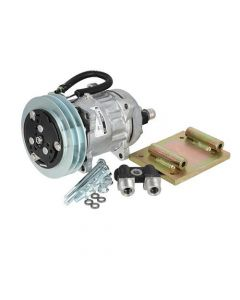 Air Conditioning Compressor Conversion Kit - York to Sanden SD7H15 fits International 786 1566 1086 1486 Hydro 100 986 1466 886 766 1066 966 1586