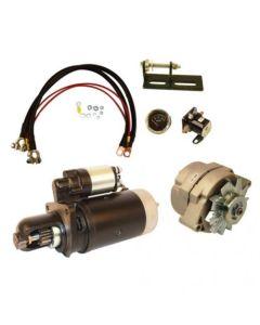 159702   Alternator & Starter (Delco style) Conversion Kit - 24V to 12V   John Deere 3010 3020 4010 4020  
