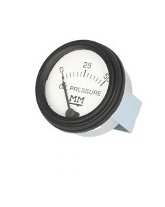 121668 | Oil Pressure Gauge - Black Bezel | Restoration Quality | Minneapolis Moline Big Mo G G705 G706 G707 G708 GVI Jet Star M5 M602 M604 M670 Super R U Z 335 445 |  | JT854 | 10A7986 | 30-3485471