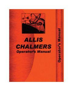 115950 | Operator's Manual - 170 | Allis Chalmers 170 |