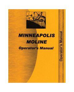 116635   Operator's Manual - 445   Minneapolis Moline 445  