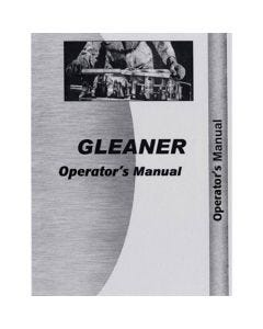 116758 | Operator's Manual - K | Gleaner K |